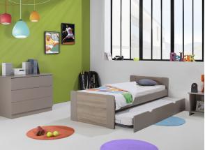 Lit gigogne 90x190 LEIRA Nateo Concept - 2