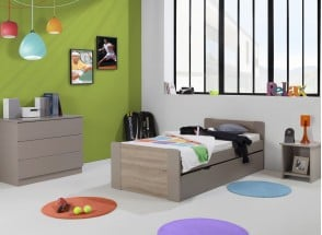 Lit gigogne 90x190 LEIRA Nateo Concept - 1