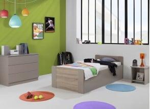 Lit enfant coffre 90x190 LEIRA Nateo Concept - 1
