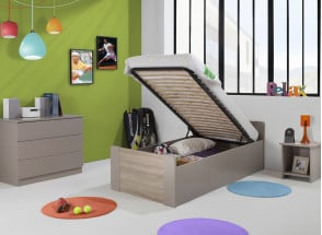 Lit enfant coffre 90x190 LEIRA Nateo Concept - 2