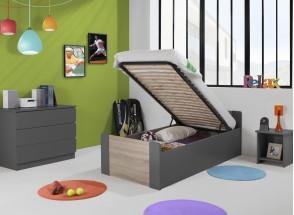 Lit enfant coffre 90x190 LEIRA Nateo Concept - 6