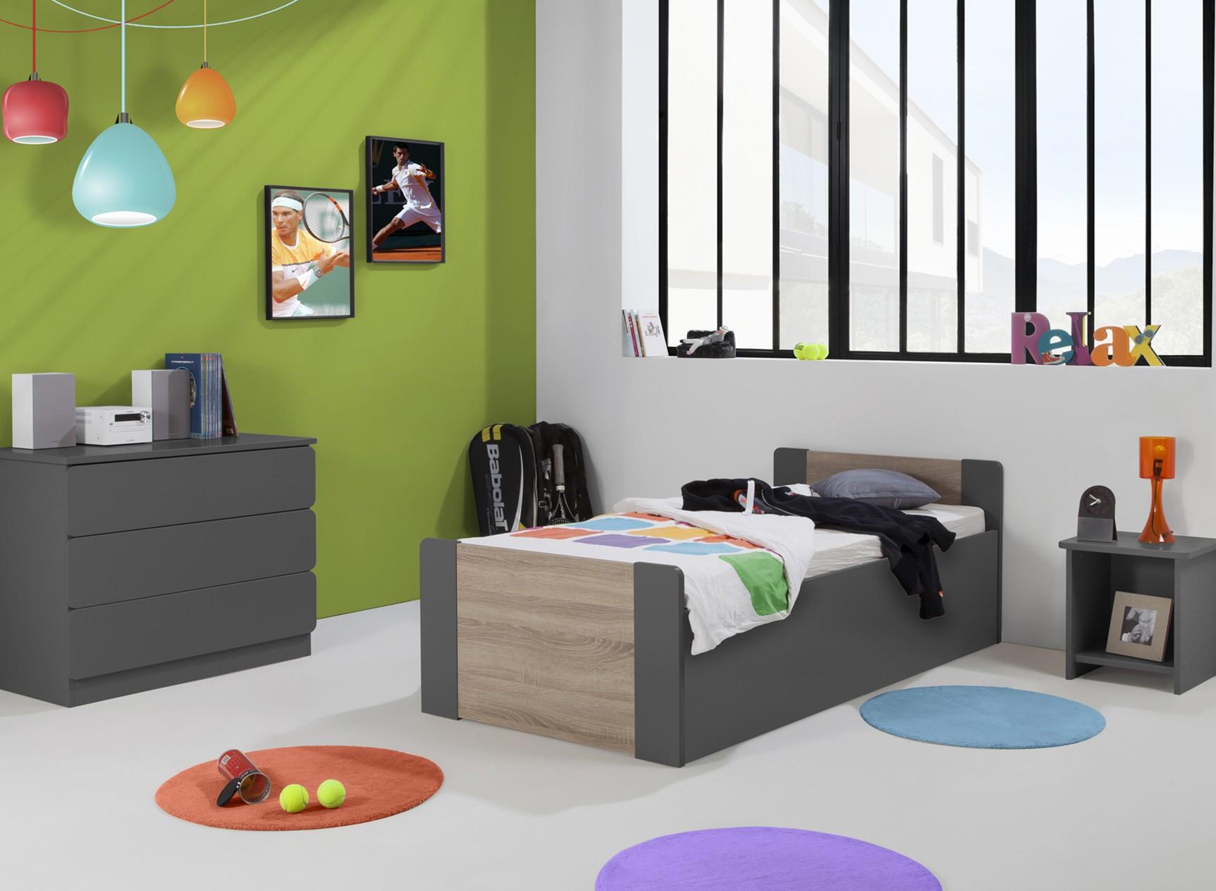 Lit enfant coffre 90x190 LEIRA Nateo Concept - 5