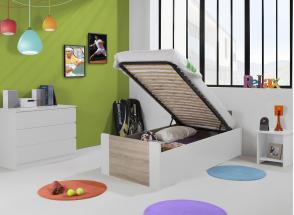 Lit enfant coffre 90x190 LEIRA Nateo Concept - 10