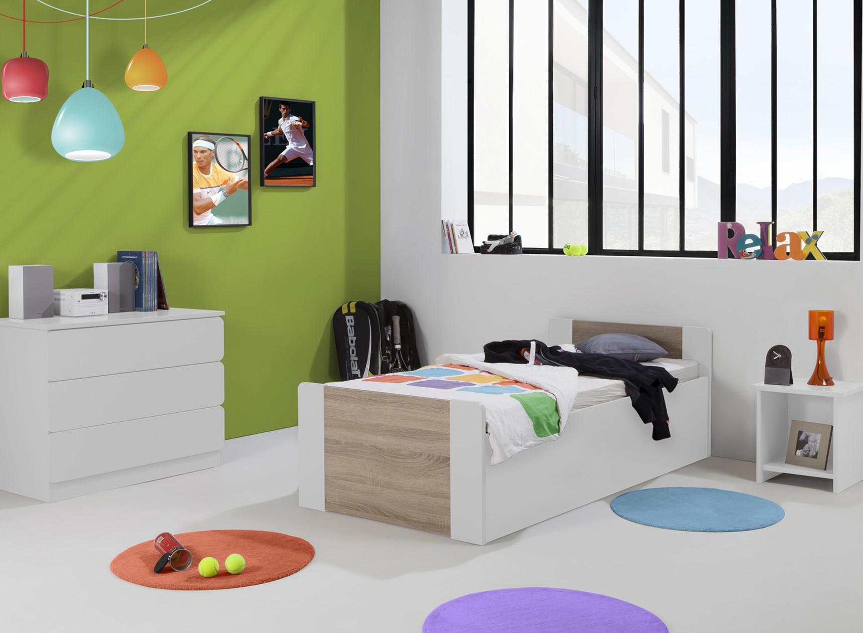 Lit enfant coffre 90x190 LEIRA Nateo Concept - 9