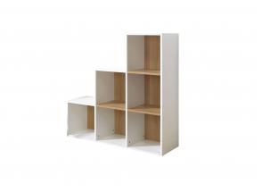 Bibliothèque 6 cases escalier  ANGEL Nateo Concept - 7