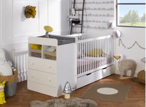 Lit bébé évolutif BORA Nateo Concept - 1
