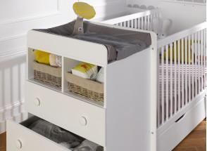 Lit bébé évolutif BORA Nateo Concept - 2