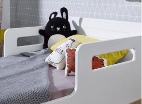 Lit bébé évolutif VOLT – Blanc/Hêtre Nateo Concept - 3