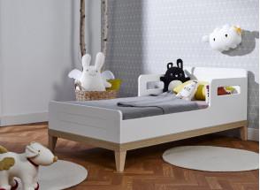 Lit bébé évolutif VOLT – Blanc/Hêtre Nateo Concept - 4