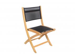 Table et chaises de jardin en Teck CANCUN - 4 personnes Nateo Concept - 2