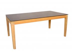 Table et chaises de jardin en Teck CANCUN - 4 personnes Nateo Concept - 3
