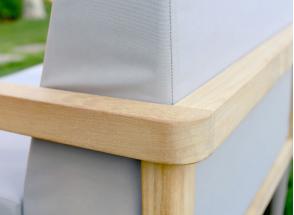 Fauteuils et table de jardin en Teck RIO Nateo Concept - 2