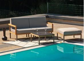 Salon de jardin en Teck RIO - 4 pièces Nateo Concept - 1