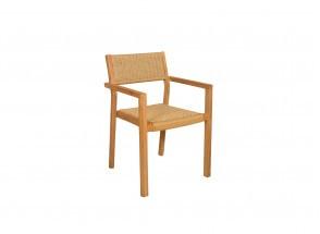 Table et chaises de jardin en Teck LIMA - 6 personnes Nateo Concept - 5
