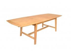 Table et chaises de jardin en Teck LIMA - 6 personnes Nateo Concept - 8