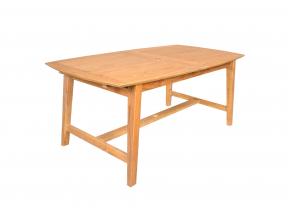 Table et chaises de jardin en Teck LIMA - 6 personnes Nateo Concept - 7