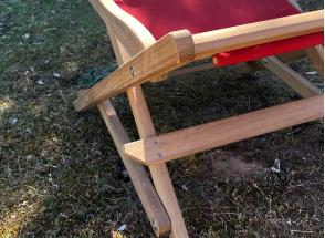 Chilienne en bois avec toile amovible MOOREA Nateo Concept - 7