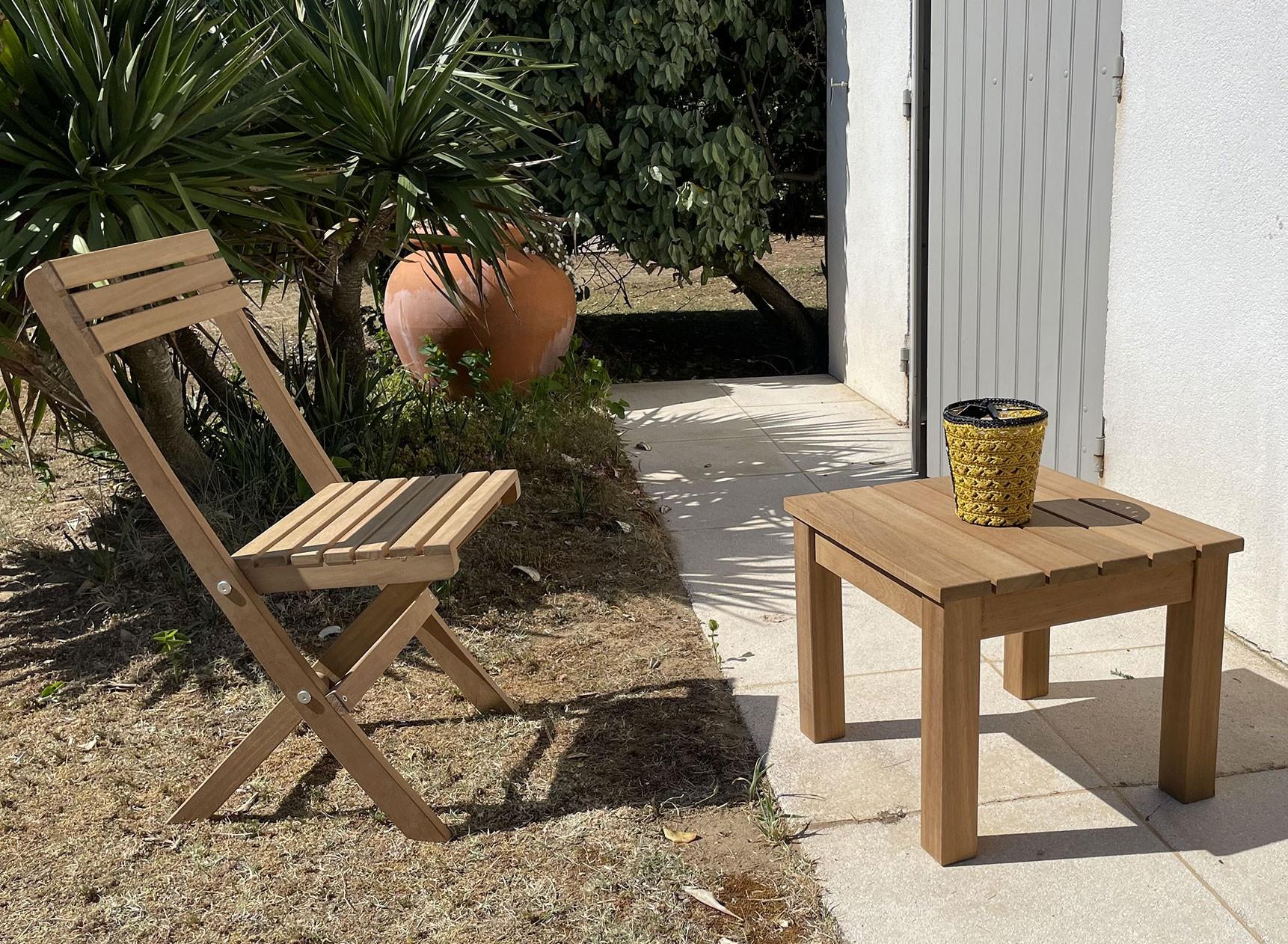 Table basse de jardin MOOREA Nateo Concept - 1