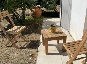 Table basse de jardin MOOREA Nateo Concept - 2