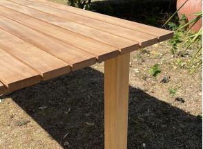 Table de jardin en bois massif MOOREA Nateo Concept - 3