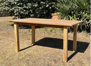 Table de jardin en bois massif MOOREA Nateo Concept - 4