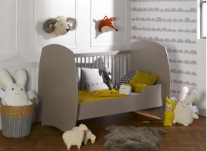 Chambre bébé complète CALTON - Lin  - 3