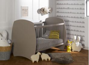 Chambre bébé complète CALTON - Lin  - 2