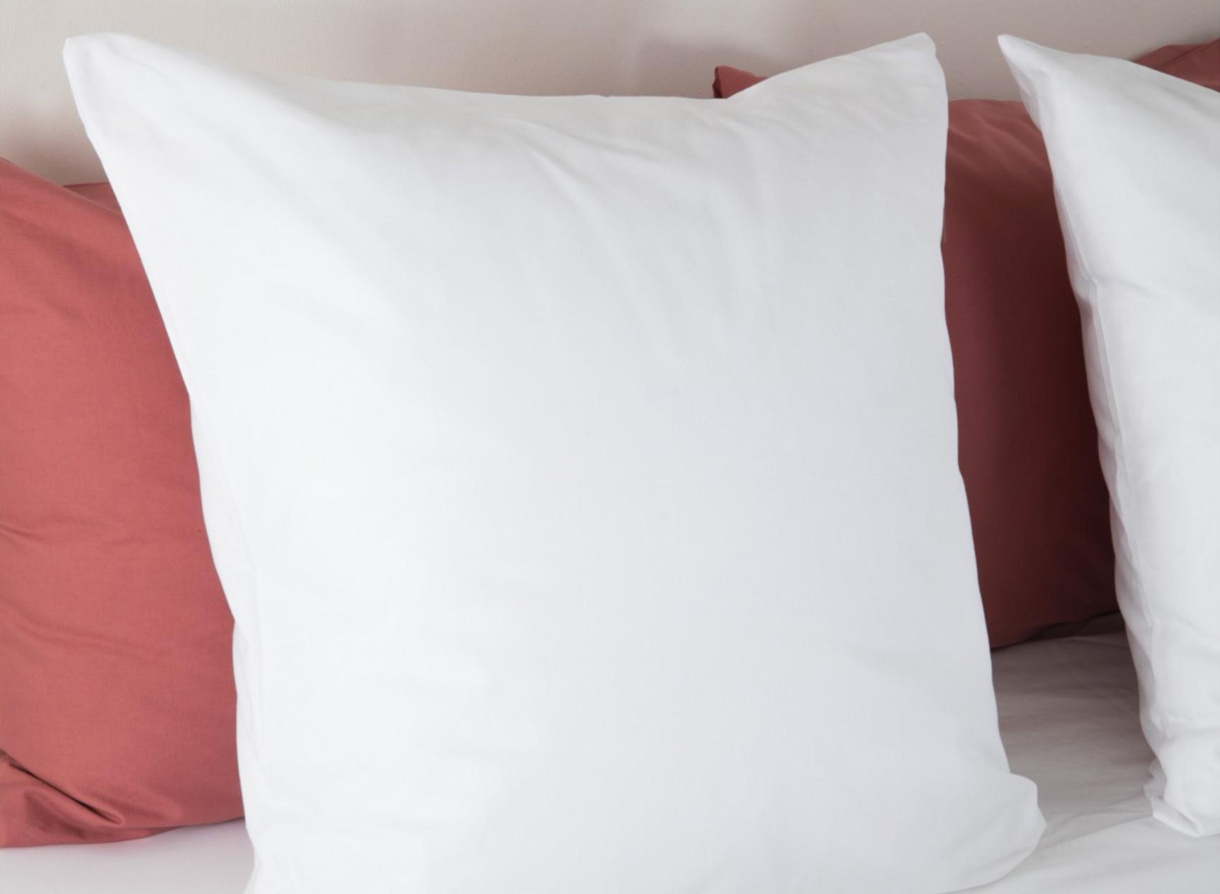 Oreiller confort 60x60cm ANDY Coton Bio Nateo Concept - 1