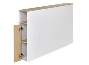 Tête de lit 2 places 160 PRADO Blanc/Chêne  - 2