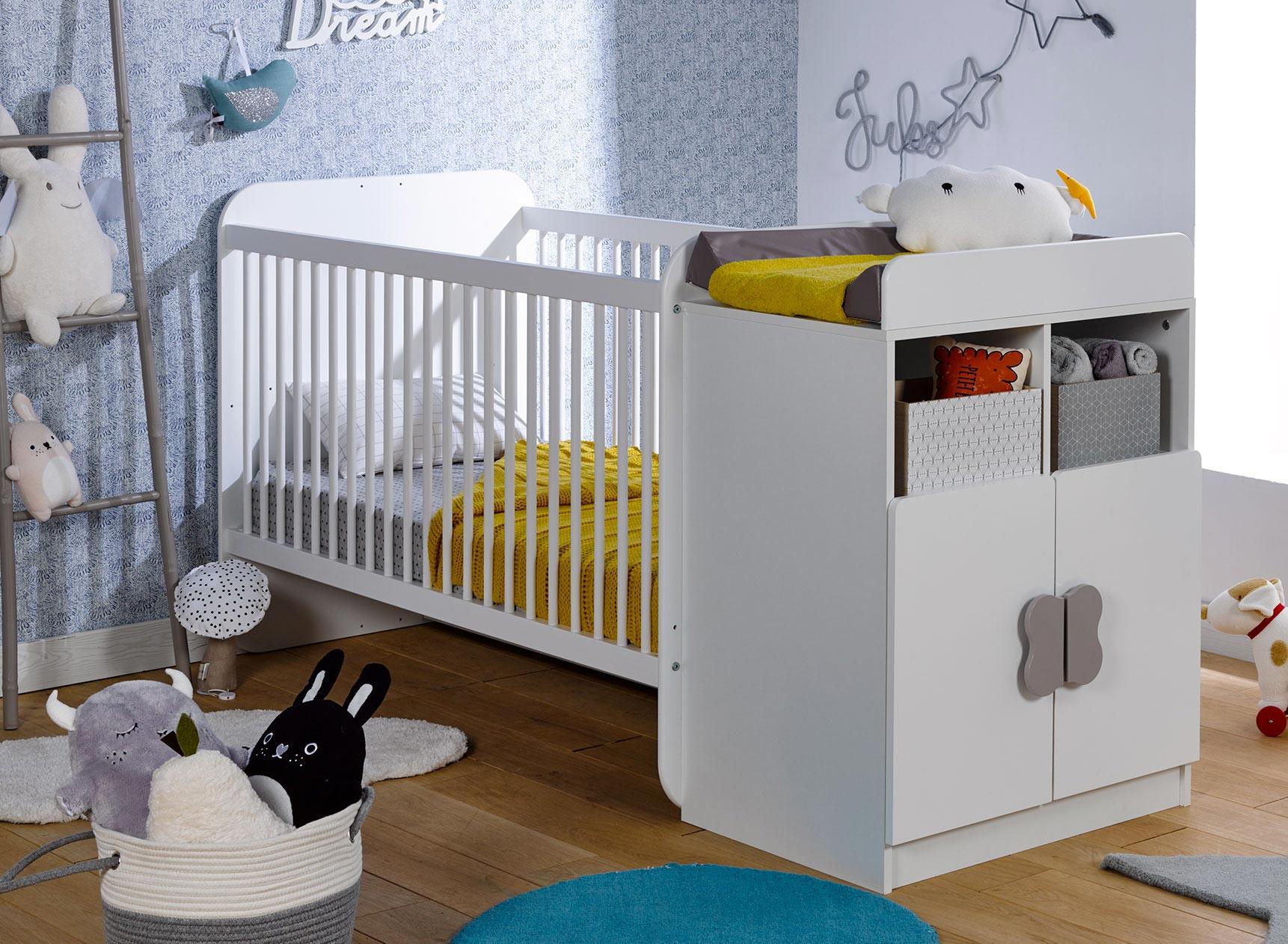 Lit bébé évolutif HYDRO Nateo Concept - 1