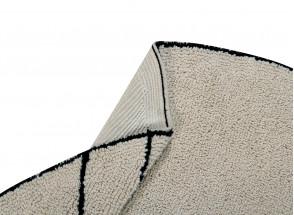 Tapis rond lavable MAIA 100% Coton  - 3