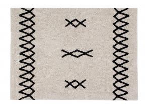 Tapis berbère lavable ATLAS 100% coton - 120x160cm  - 1
