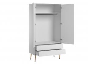 Armoire 2 portes 2 tiroirs MOON  - 2