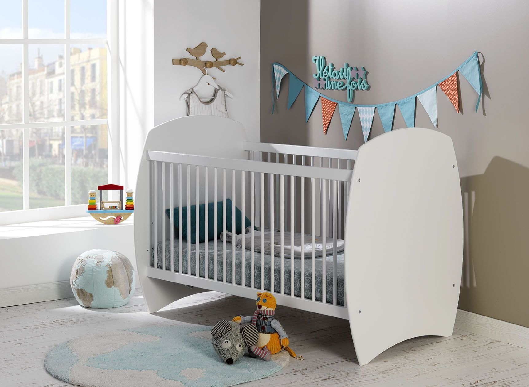 Lit bébé évolutif CALTON Nateo Concept - 1