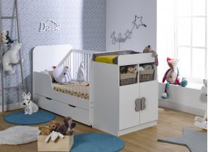 Lit bébé évolutif HYDRO Nateo Concept - 2