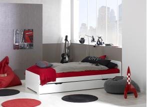 Lit gigogne 90x200 LEVIS Nateo Concept - 4