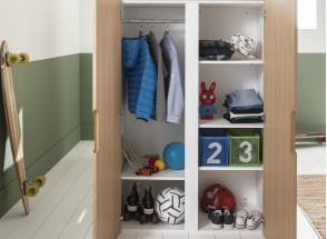 Lit mezzanine avec bureau et armoire MANLY Nateo Concept - 8