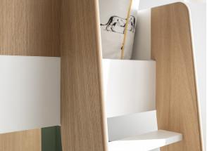 Lit mezzanine avec bureau et armoire MANLY Nateo Concept - 10
