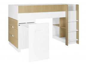 Lit mi-hauteur avec bureau et commode MANLY Nateo Concept - 12