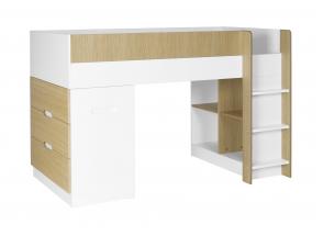Lit mi-hauteur avec bureau et commode MANLY Nateo Concept - 11