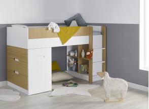 Lit mi-hauteur avec bureau et commode MANLY Nateo Concept - 7