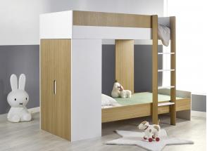 Lit superposé avec armoire MANLY Nateo Concept - 1