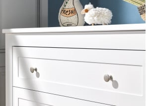 Commode 3 tiroirs SPARTE – Blanc Nateo Concept - 2