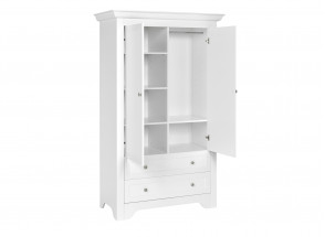 Armoire 2 portes 2 tiroirs SPARTE – Blanc Nateo Concept - 5