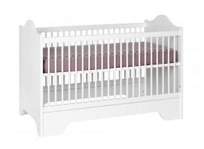 Lit bébé évolutif SPARTE – Blanc Nateo Concept - 5