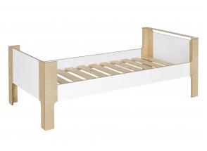 Lit enfant 90x190 SYMI – Blanc/Bouleau Nateo Concept - 5