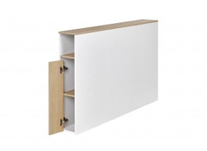 Lit double 140x200 avec tête de lit PRADO Nateo Concept - 6