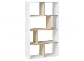 Bibliothèque 8 cases SYMI – Blanc/Bouleau Nateo Concept - 6